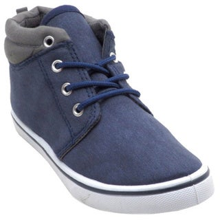 Blue Boys B-Laxi Fabric Canvas Sneakers