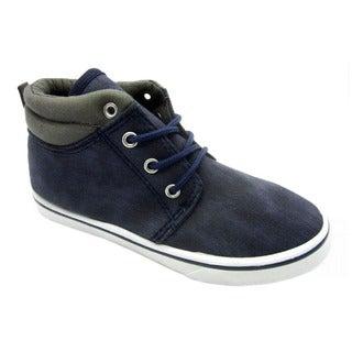 Blue Boys B-Laxi Fabric Canvas Sneakers