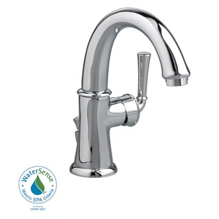 Amercian Standard Portsmouth Single Control Swivel Monoblock Faucet with Brass Crescent Spout - Chrome