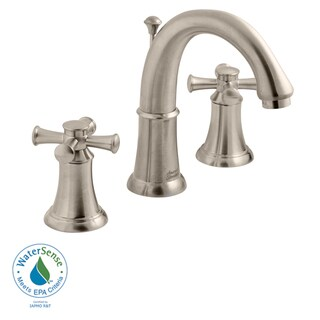 Amercian Standard 2-handle Widespread Bathroom Faucet with Metal Lever Handles - Silver