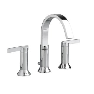 Amercian Standard Polished Chrome Berwick Widespread Bathroom Faucet with Metal Lever Handles