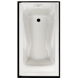 American Standard Evolution Soaking White Bathtub