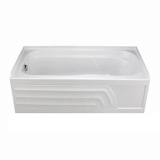 American Standard Colony Soaking White Bathtub