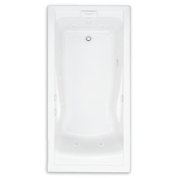 American Standard Evolution 60 Inch by 36 Inch Deep Soak EverClean Whirlpool 2771VC.020 White