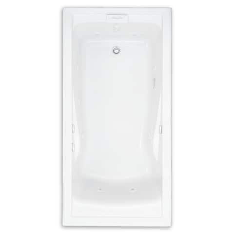 American Standard Evolution 60 Inch by 36 Inch Deep Soak EverClean Whirlpool 2771VC.020 White