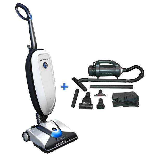 Soniclean VT Plus Upright Vacuum and Handheld Vacuum with Tools (Refurbished)