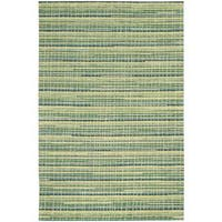 Mulholland Peacock Area Rug by Nourison (5' x 7'6) - 5' x 7'6