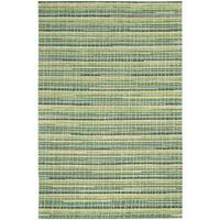 Mulholland Peacock Area Rug by Nourison - 5' x 7'6