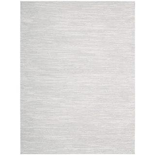 Nourison Pelle PEL1 Area Rug (Grey 4 x 6)