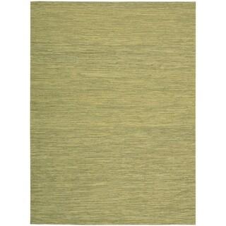 Nourison Pelle PEL1 Area Rug (Green 4 x 6)