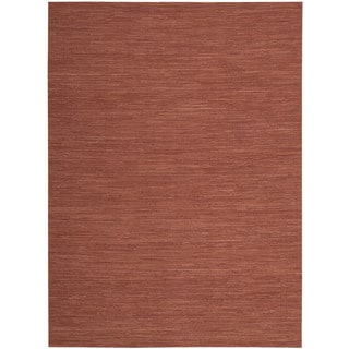 Nourison Pelle PEL1 Area Rug (Red 4 x 6)