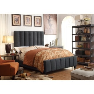 Moser Bay Furniture Isabel Charcoal Upholstery Bed