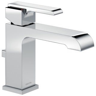 Delta ARA Stainless Steel Single Handle Lavatory Faucet