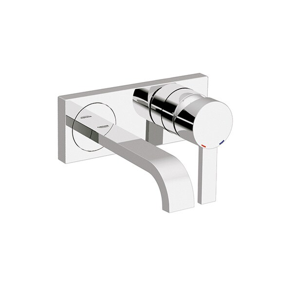Grohe Allure Bathroom Faucet: Grohe Allure Starlight Chrome Single Hole Bathroom Sink