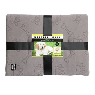 The Sharper Image Memory Foam Pet Pad - m