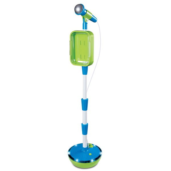 Discovery Kids Light-Up Musical Microphone & Stand