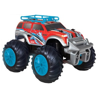 Black Series Amphibious RC Vehicle Land & Water Rover