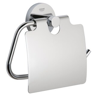 Grohe Essentials Toilet Paper Holder Starlight Chrome