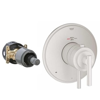 Grohe Atrio Infiniti Brushed Nickel Brass Shower Trim