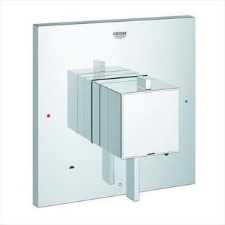Grohe Eurocube Starlight Chrome Shower Trim