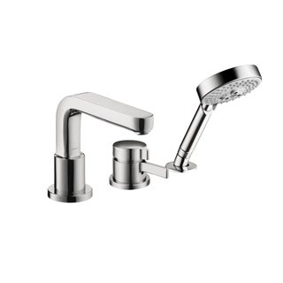 HansGrohe Trim 3-hole Chrome Thermostatic Tub Faucet