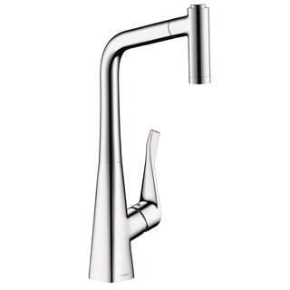 HansGrohe Metris HighArc 2-spray Steel Optick Kitchen Faucet