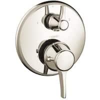 Hansgrohe Metris Polished Nickel Shower Trim