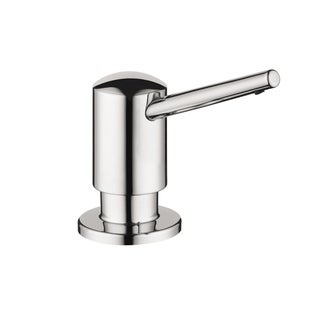 HansGrohe Contemporary Steel Optick Soap Dispenser