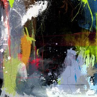 Maxwell Dickson 'Brain Storm' Modern Canvas Wall Art