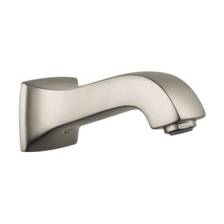 Hansgrohe Metris Brushed Nickel Brass Tub Spout