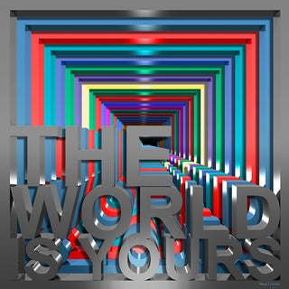 Maxwell Dickson 'The World is Yours' Modern Canvas Wall Art