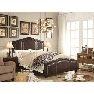 Moser Bay Furniture Belita Espresso Upholstery Bed