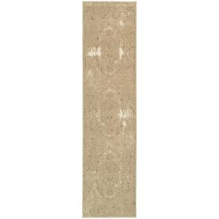 Shabby Chic Oriental Tan/ Ivory Rug (1'10 x 7'6)