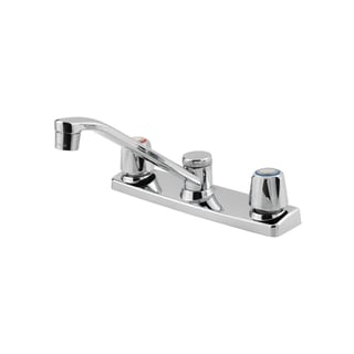 Pfister Pfirst Series 2-handle Polished Chrome Kitchen Faucet