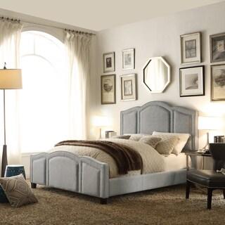 Moser Bay Furniture Belita Grey Upholstery Bed