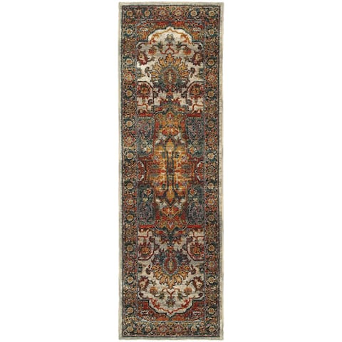 Copper Grove Hirtles Persian Area Rug