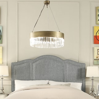 Moser Bay Furniture Belita Grey Upholstery Headboard