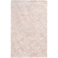 "PANTONE UNIVERSE Colorscape Loop Pile Faded Diamond Pink/ Beige Rug (2'6 x 8') - 2'6"" x 8'"