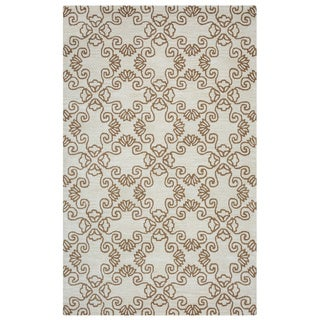 Arden Loft Hand-tufted Natural Tree Crown Way Collection Wool Area Rug (2'6 x 10')