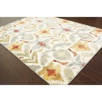 Oliver & James Maderna Ivory Tribal Area Rug - 9'10 x 12'10