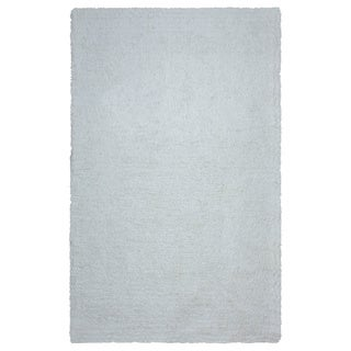 Arden Loft Hand-tufted Ivory Solid Danbury Crossing Collection Microfiber Area Rug (8' x 10')