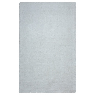 Arden Loft Hand-tufted Ivory Solid Danbury Crossing Collection Microfiber Area Rug (2'6 x 8')