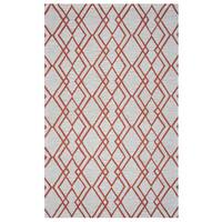 Arden Loft Hand-tufted Natural Geometric Easley Meadow Collection Wool Area Rug - 8' x 10'
