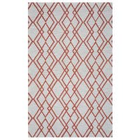 """Arden Loft Hand-tufted Natural Geometric Easley Meadow Collection Wool Area Rug - 2'6"""" x 8'"""