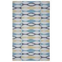 Arden Loft Hand-tufted Beige Geometric Easley Meadow Collection Wool Area Rug - 9' x 12'
