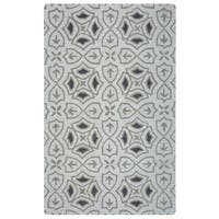 Arden Loft Hand-tufted Ivory Brick Lane Lisbon Corner Collection Wool Area Rug (10' x 14')