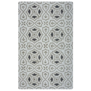 Arden Loft Hand-tufted Ivory Brick Lane Lisbon Corner Collection Wool Area Rug (2'6 x 10')