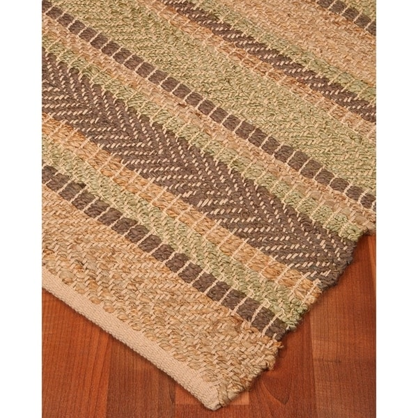 Natural Area Rugs Hand Loomed Glamour Jute Rug 9 X 12