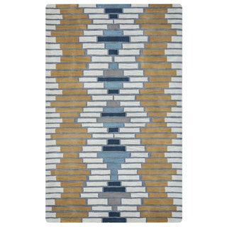 Arden Loft Hand-tufted Ivory Floral Lewis Manor Collection Wool Area Rug (10' x 14')
