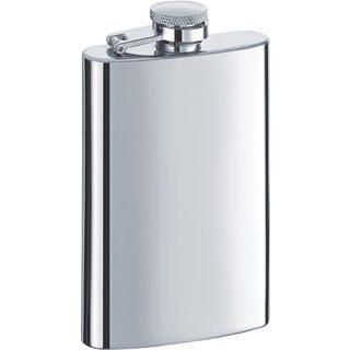 Visol Mini Satin Stainless Steel Liquor Flask - 4 ounces